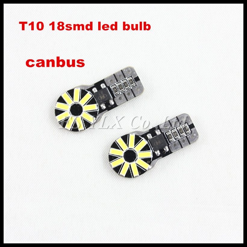 Car Auto LED T10 194 168 W5W 5630 18 SMD Cold White Car Side Wedge Light Lamp Canbus LED Bulb<br><br>Aliexpress