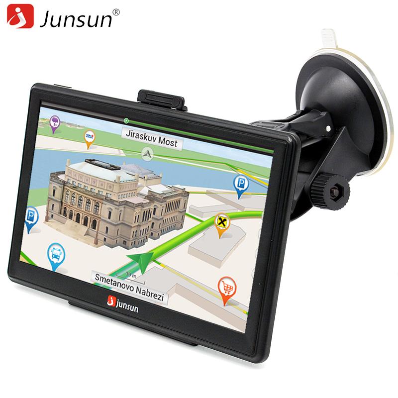 Junsun 7-Inch Capacitive screen Car GPS Navigation System Units 8GB Windows CE 6.0 Lifetime Maps Portable Vehicle Navigator(China (Mainland))
