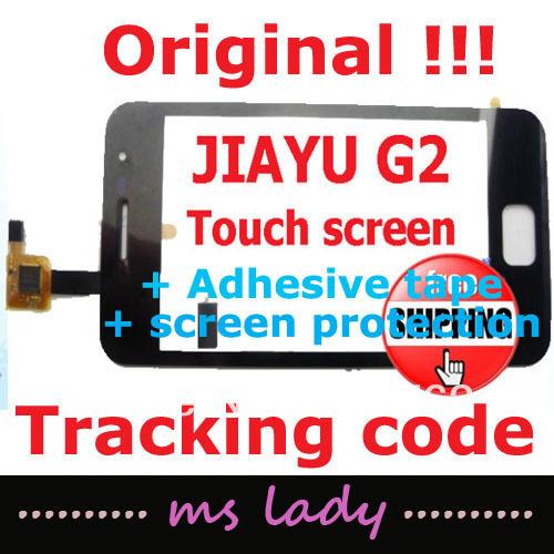 JIAYU G2 Original touch panel 100% new glass touchscreen JY-G2 JY/G2 free shipping  airmail + tracking code