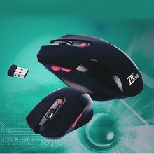 New 2015 HOT Sale 6Keys USB Wireless Gaming Mouse Optical Computer Game Mouse 2.4G WIFI Wireless Mouse For Gamer Free Shipping