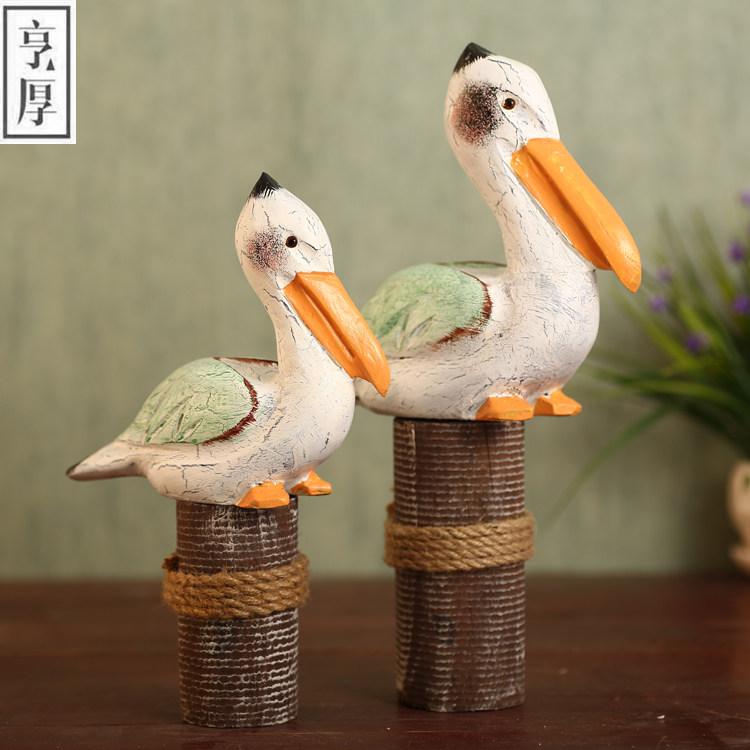 Online kaufen gro handel geschnitzte holz vogel aus china for Grosshandel wohnaccessoires dekoration