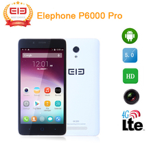 "Original 5.0"" Elephone P6000 Pro MTK6753 Octa Core 3GB RAM 16GB ROM 13.0 MP 4G FDD 3G WCDMA android 5.1 smart mobile phone(China (Mainland))"