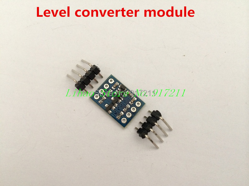 FREE SHIPPING 10pcs/lot IIC I2C Level converter module compatible with 5-3V system for arduino sensor module(China (Mainland))
