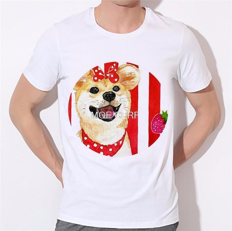 Moe Cerf Dogs Pug Tops Tees Shirt Hot Sale T Shirts Men Game Of Thrones 3D Man T-shirt Star Wars O Neck Mens t shirt B-137#  HTB1LER8KVXXXXcZaXXXq6xXFXXX9