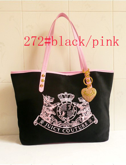 Free Shiping women Ladies Scottie mother bag couture Handbags shoulder Bags Velour letter metal Embroidery black/pink #272 J02(China (Mainland))