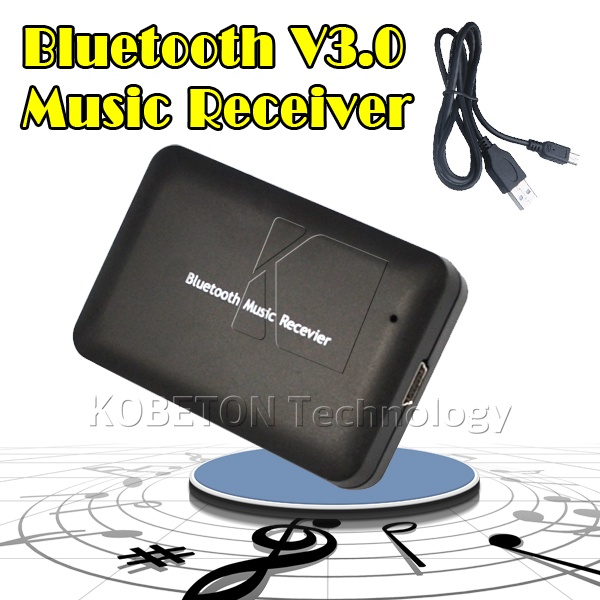USB Wireless Bluetooth 3.0 Audio Music Receiver Adapter to Speaker Sound BOX for HTC SONY LG etc Bluetooth Device for Speaker(China (Mainland))