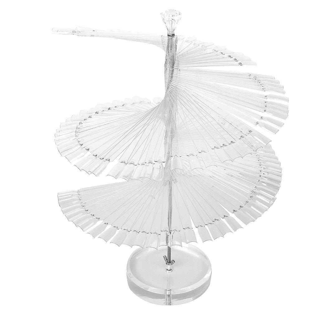 Pro Spiral Fan Shape Display Stand Holder for 120pc False Nail Art Polish Board Tips Stick<br><br>Aliexpress