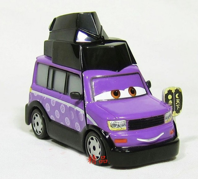 Free Shipping ORIGINAL Pixar Cars Deluxe Sumo Judge Dicast Kids toys gift loose Very Rare!