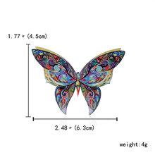 RINHOO Moda Colorata A Mano Farfalla Coppia di Uccelli Libellula Di Cristallo Spilla di Strass Spille per Le Donne Della Signora Dei Monili di Costume(China)