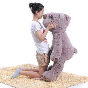 teddy bear plush toys 1.2m size Christmas gift huge size bear freeshipping