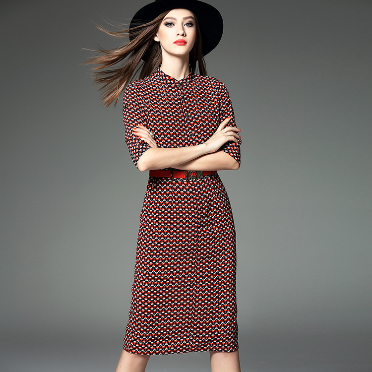 Shenzhen Nanyou 2016 new spring European womens boutique catwalk dress 18717 stripesОдежда и ак�е��уары<br><br><br>Aliexpress