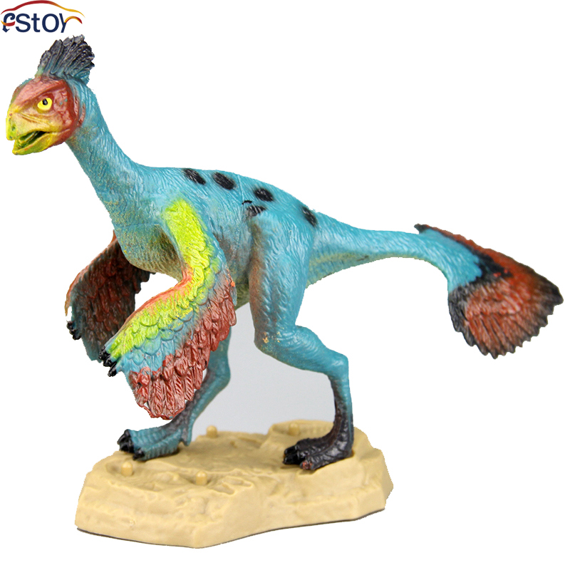 Animal Toys For Boys : Anchiornis dinosaur toys action figures model wild animal