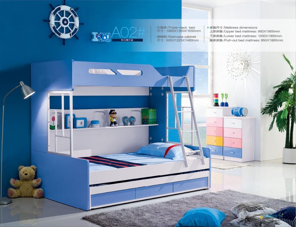 achetez en gros lit superpos avec escalier en ligne des grossistes lit superpos avec. Black Bedroom Furniture Sets. Home Design Ideas