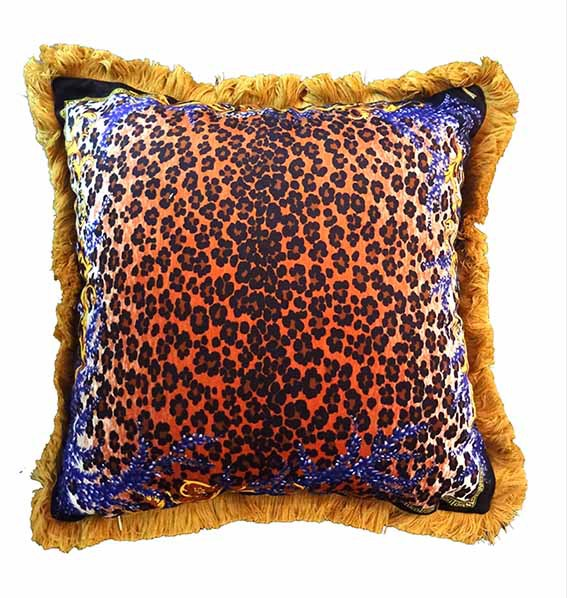 20'/27' Imperial Top quality sofa cushion luxury home decorative leopard soft pillow