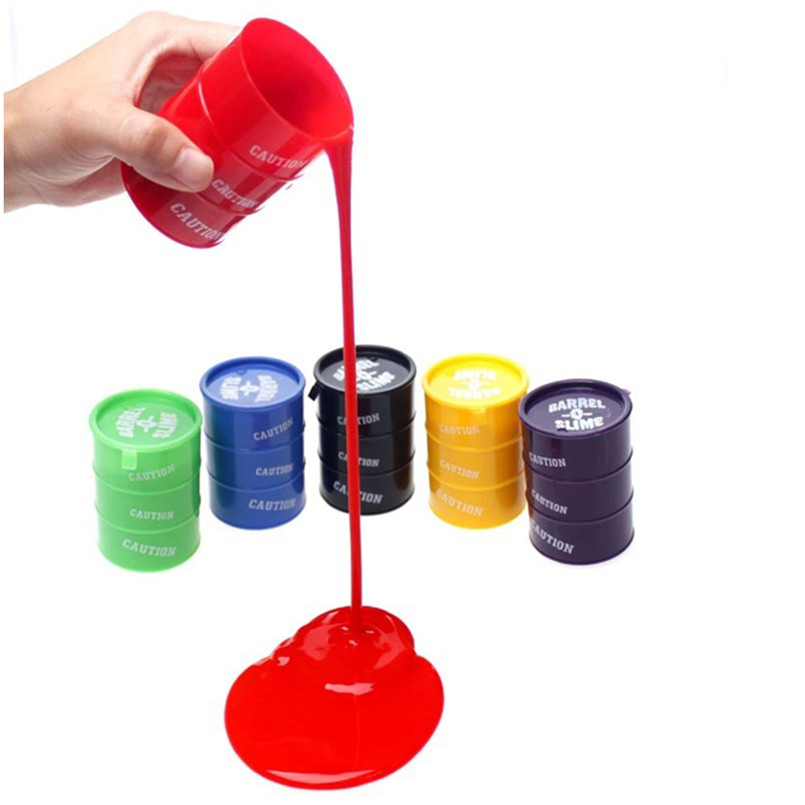 Free Shipping 24 pcs/lot Novelty Barrel Oil Slime Trick Toys For April Fool's Day(China (Mainland))