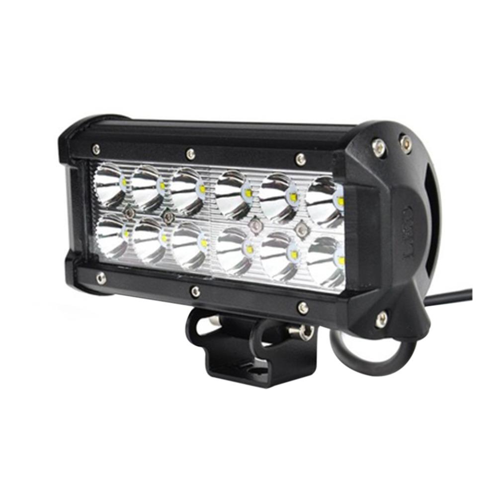 inch 36w 12 leds super bright for led work light drive light lamp. Black Bedroom Furniture Sets. Home Design Ideas