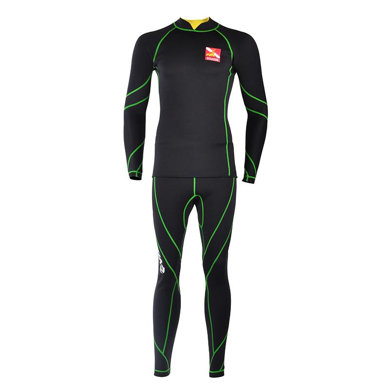 Top quality men 1.5mm neoprene wetsuit triathlon wetsuit spearfishing diving suit triathlon suit swimming wear(China (Mainland))