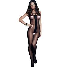 Buy FGirl Body Lingerie Set Sexy Halloween Costumes Women Evening Pajamas Stripes Sheer Crotchless Bodystocking FG11113