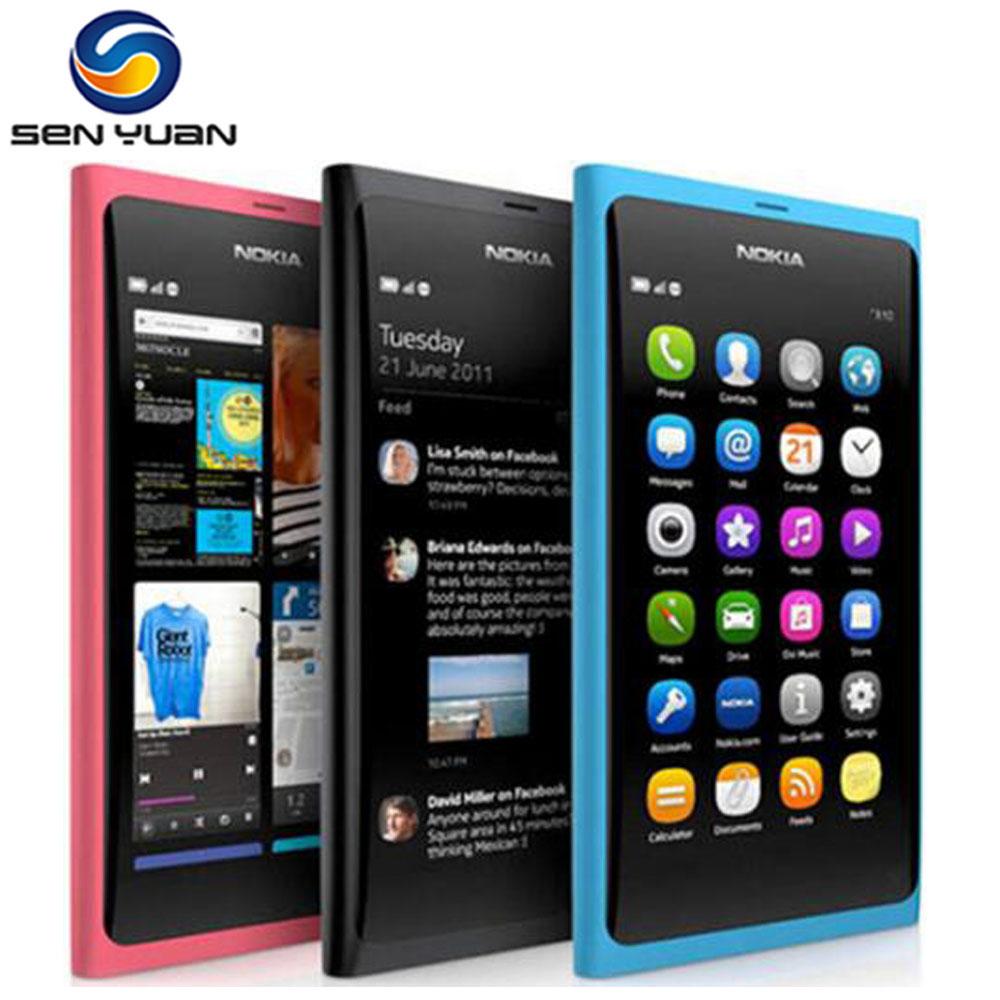 Original Nokia N9 N9-00 GPS WIFI 3G GSM 8 MP Camera 16GB ROM 1GB RAM Unlocked n9 phone(China (Mainland))