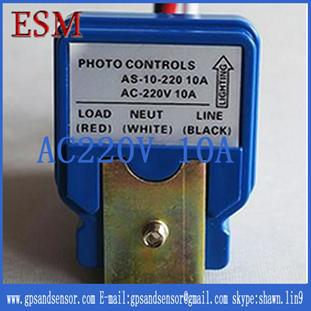 10pcs/lot AC 220V 10A ON/OFF Photo Control Sensor Switch for City Road Street Light Lamp AS-10-220<br><br>Aliexpress