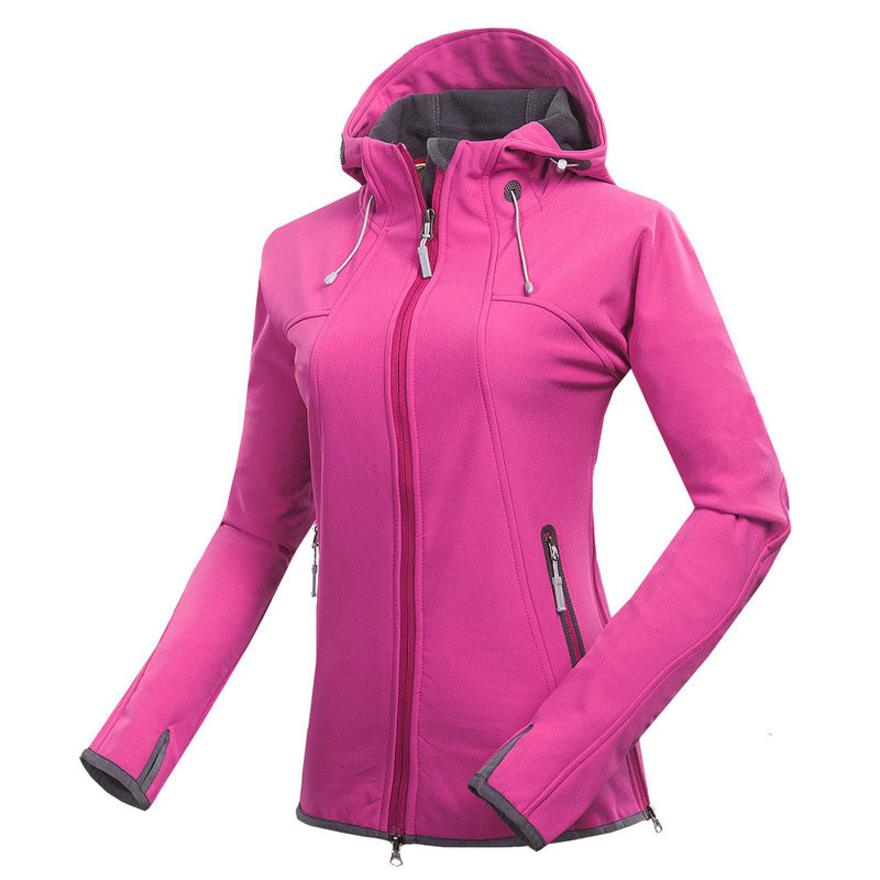 2015 NEW elephant brand winter softshell jacket women Waterproof windstopper Camping Ski hunting Outdoor Sport Hiking jackets(China (Mainland))