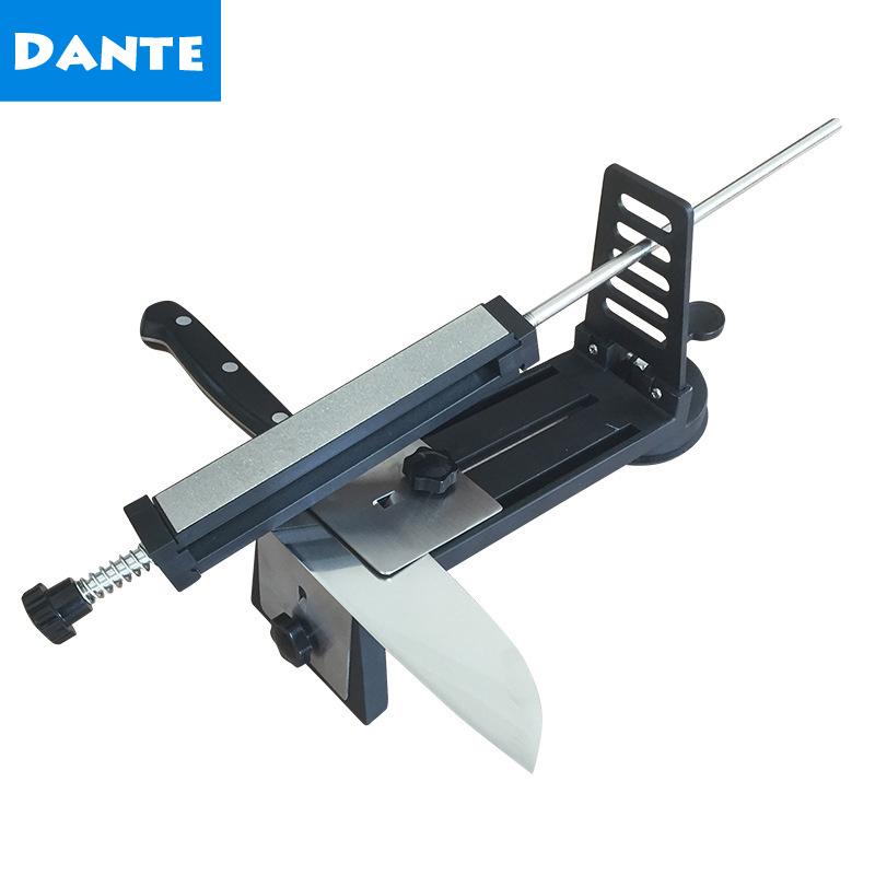 Stainless Steel Professional Kitchen Knife Sharpener System Machine Fix-angle Diamond Sharpening Tool Sharpener Stone Whetstone(China (Mainland))