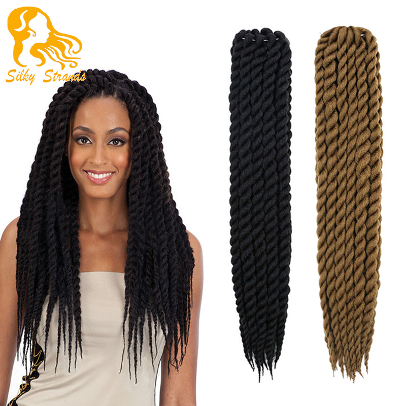 Havana Mambo Twist Crochet Braid Hair 22 135g/pack 2X Synthetic ...