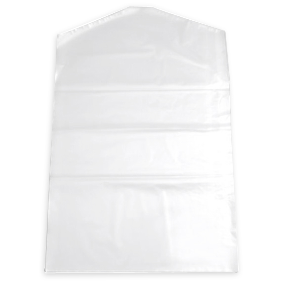 Transparent 10pcs Clothes Suit Garment Dustproof Cover Plastic Storage Bag HB88(China (Mainland))