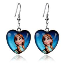Silver Resin fairy Earrings Fashion Jewelry For Children Kids Girl Women Pendant Drop Earrings pendientes mujer Boucle d'Oreille(China (Mainland))