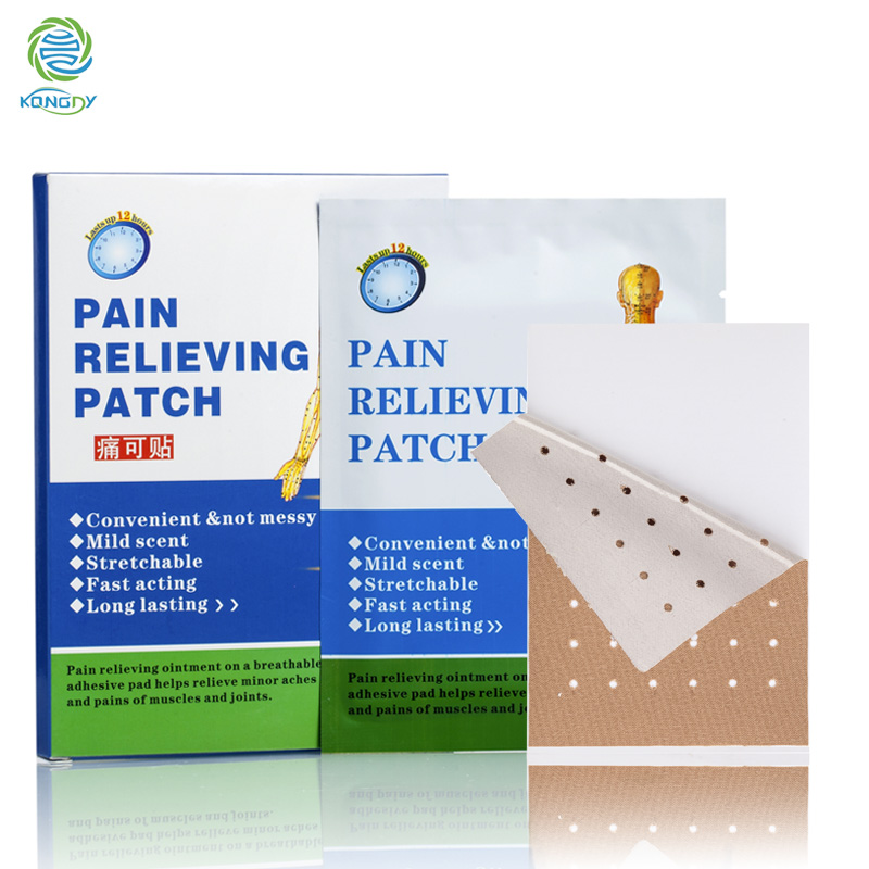 Promotion KONGDY Pain Patches for Chronic Pain 6 piece/box Back Lumbar Spine Pain Medical Patch Body Massager(China (Mainland))