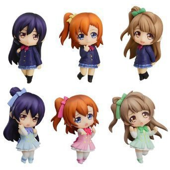 6pcs/set Love Live japanese anime figures nendoroid evangelion fate stay night sailor moon hatsune miku neca action figure anime(China (Mainland))
