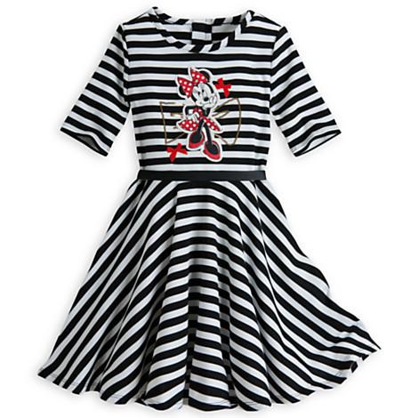 ROCOO wholesale original brand 5pcs/lot Minnie Mouse Striped Knit Dresses for Girls (3-12yrs),minnie mouse dress for girls <br><br>Aliexpress