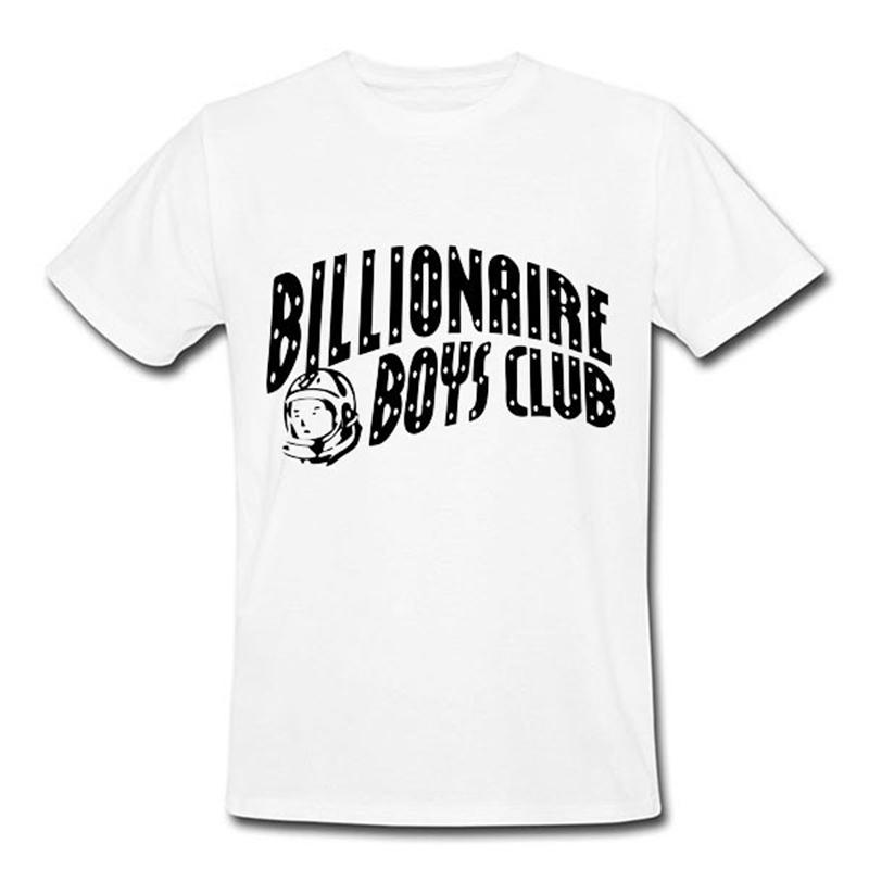Free Shipping Hot Sale Mens BILLIONAIRE BOYS CLUB T-Shirts Letter BBC T Shirt Hip Hop Roll Tshirt billionaire boys club T-shirts(China (Mainland))