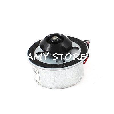 Silver Tone Black CD Tray Holder Design VCD DVD Motor DC 5.9V(China (Mainland))