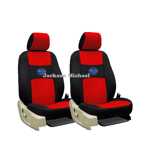 2 front seats universal car seat cover subaru forester 2014 heritage xv impreza legacy car. Black Bedroom Furniture Sets. Home Design Ideas