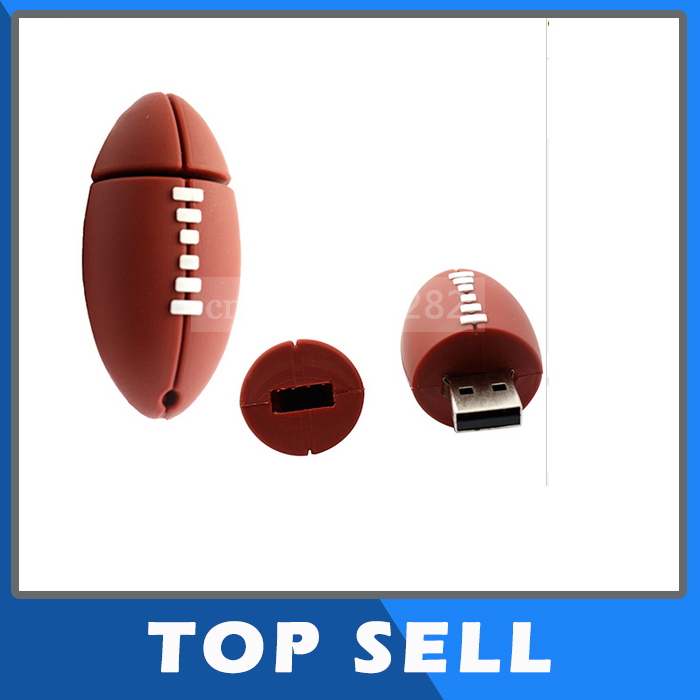 new style High quality Usb flash drive 4g/8g/16g/32gb rugby pen drive usb 2.0 memory stick drive personalized gift free shipping(China (Mainland))