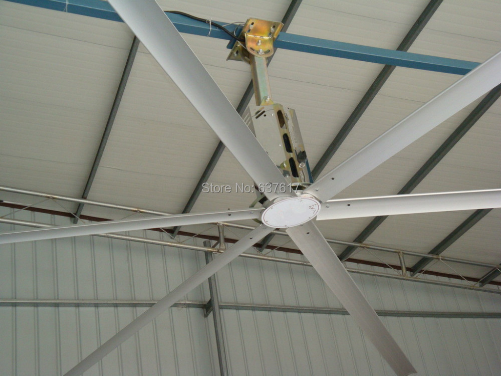 China guangzhou hvls industrial large ceiling fan for shopping malls in fans from home - Shopping ceiling fans ...