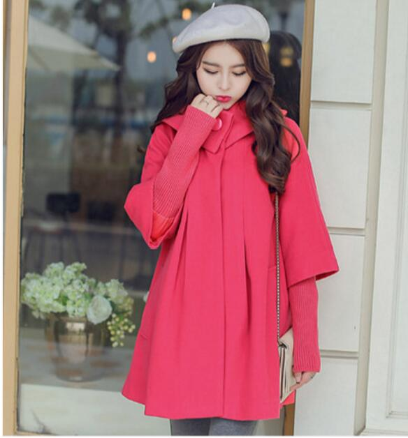 2016 spring maternity outerwear female 100% cotton top stand collar long-sleeve loose<br><br>Aliexpress