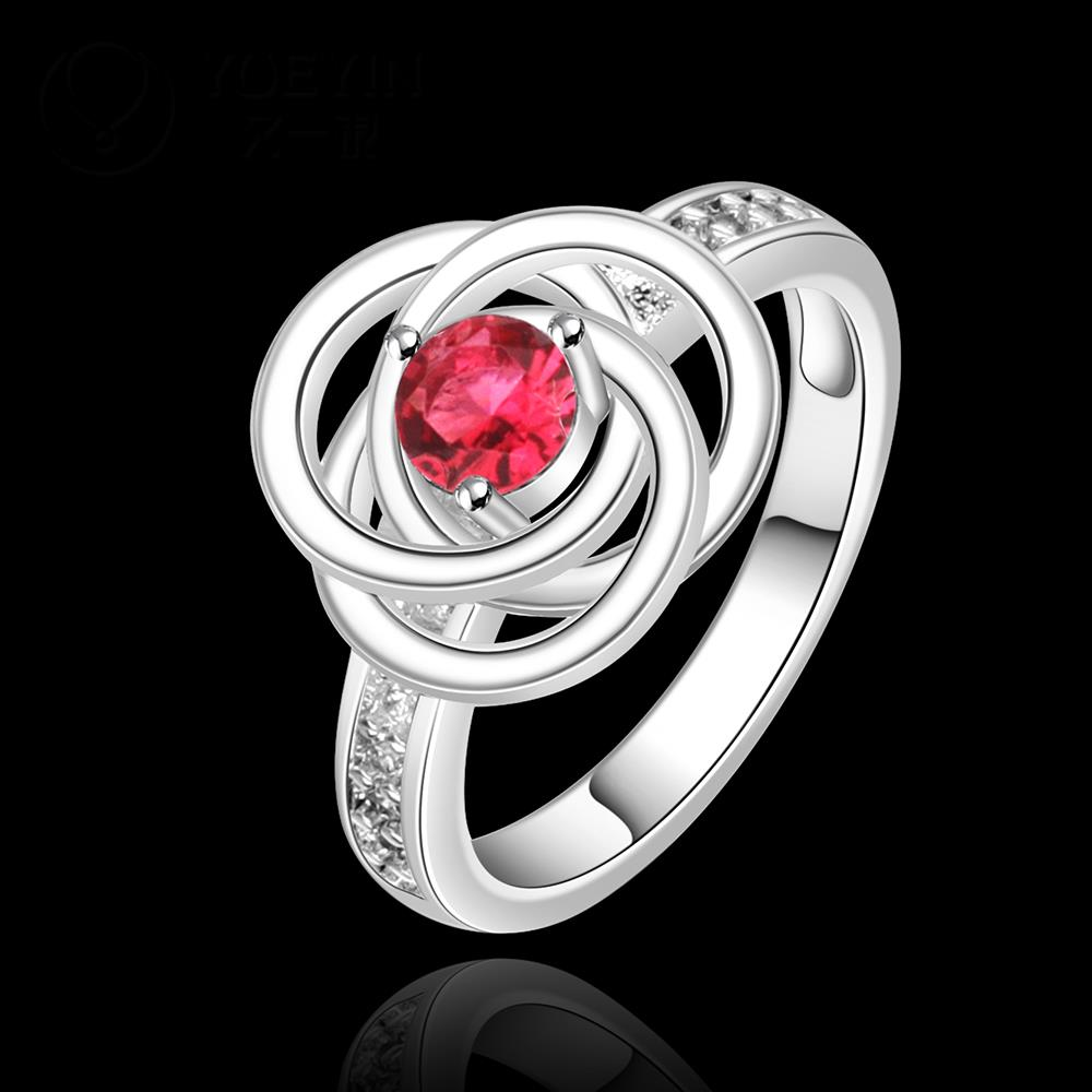 2014 SALE joias 925 silvering ruby Austrian Crystal CZ Simulated Diamonds Fashion Jewelry Acessories new design