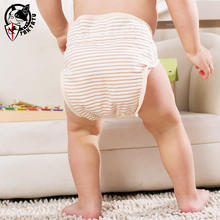The diaper pants pants by bamboo fiber cloth diaper for baby diaper bag cotton wash summer air leak(China (Mainland))