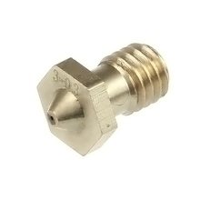 Free shipping Geeetech e3d 3d printer j-head hot end nozzle 0.3/0.35/0.4/0.5mm  for 1.75/3mm filament reprap extruder