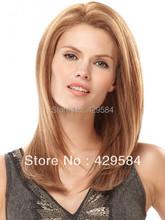 Бесплатная доставка! в наличии, бразильские волосы парики, средняя часть прямо полный парик шнурка выделите 30/613 # блондинка парик шнурка, цена от производителя
