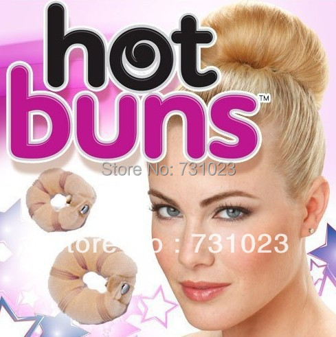 2013 hot sale hot buns hair accessories as seen on tv