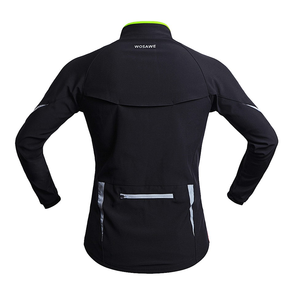2015 New Professional Thermal Cycling Jacket Winter Running Sport Jacket Men Women High Quality WOSAWE 2 Colors BC266 (3)