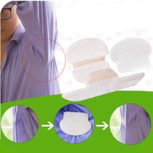 60Pcs Summer Deodorant Stick Stop Underarm Dress Clothing Sweat Perspiration Pads Shield Absorbing Armpit Liner Sheet collor pad(China (Mainland))