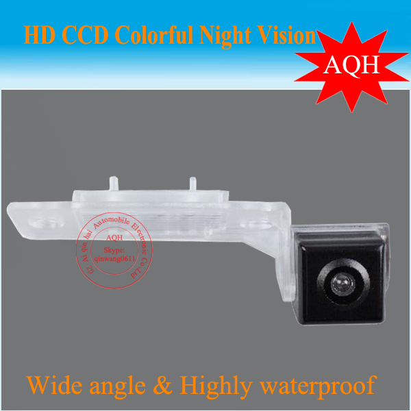Wholesale price Sony CCD Car Rear View Camera For Volkswagen Touran/ Passat Lingyu+Free shipping(China (Mainland))
