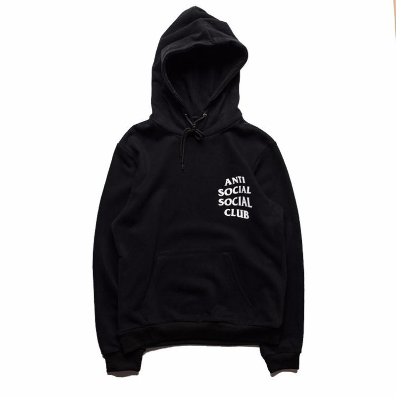 PALACE jogging Sportswear ANTI SOCIAL SOCIAL CLUB Hoodie Men High Quality Kanye West Hoodies Skateboard Yeezus Yeezy Pullover(China (Mainland))