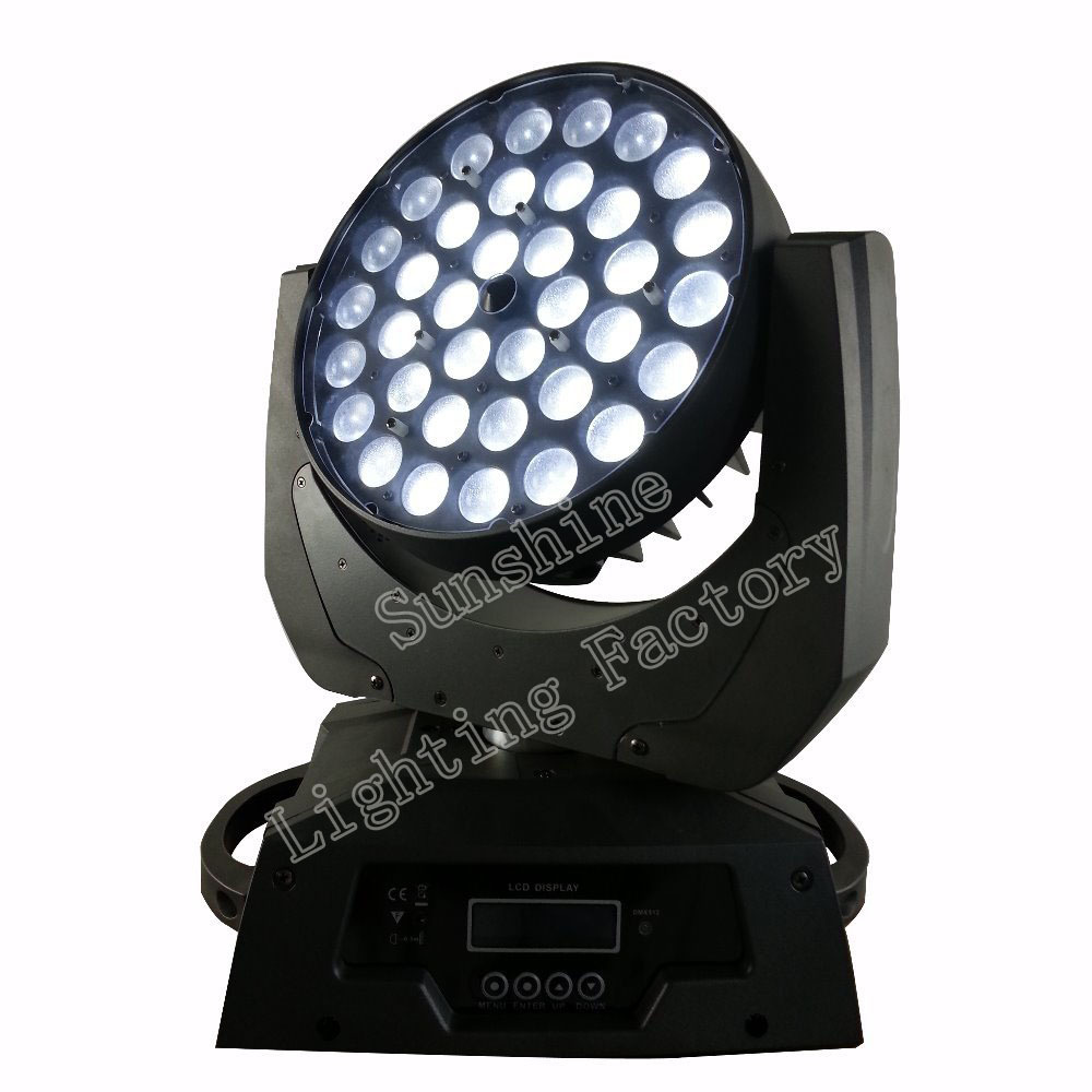 36x10w Zoom 4 1 Led rgbw Moving Head Light,Quad color LED Wash ZOOM Stage DJ Disco - Guangzhou Sunshine Lighting Equipment Factory store