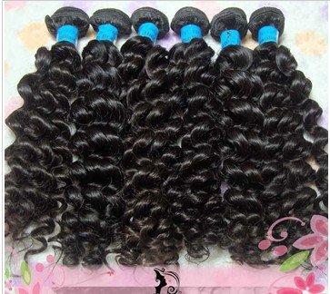 14 New Fashion Remy Brazilian Virgin 100g/pcs Hair Weaving, Human Hair Extension, Natural Black #1B, 1set/lot, Free Shipping<br><br>Aliexpress