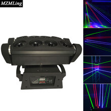 Buy 0.5w RGB Laser Light DMX512 Spider Beam Light Moving Head Light DJ/Fest/Home /Show /Bar /Stage /Party Light Stage Machine for $395.00 in AliExpress store